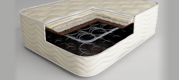 matelas ressorts bonnell. Black Bedroom Furniture Sets. Home Design Ideas