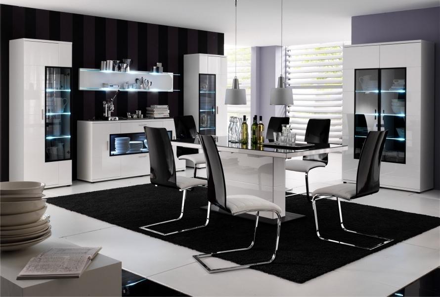 Salon Salle A Manger Noir Et Blanc Perfect Full Size Of Moderne