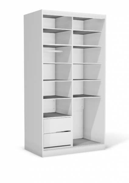 armoire portes coullisant 110 cm x 65 cm x 210cm. Black Bedroom Furniture Sets. Home Design Ideas