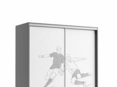 armoire portes coullisant  160 cm x 65 cm x 210cm