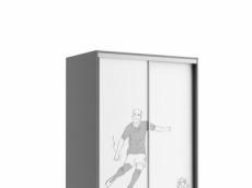 armoire portes coullisant 110 cm x 65 cm x 210cm