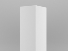 Armoire 1 pt ( L50 cm; H200 cm; P46 cm)