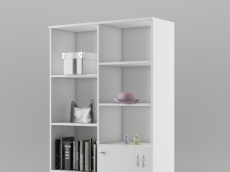 bibliothèque L96,6cm x P36,6 x H200 cm