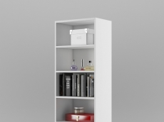 bibliothèque L55cm x P36,6 x H200 cm