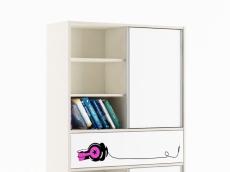 bibliothèque  L100cm x P37 x H190 cm