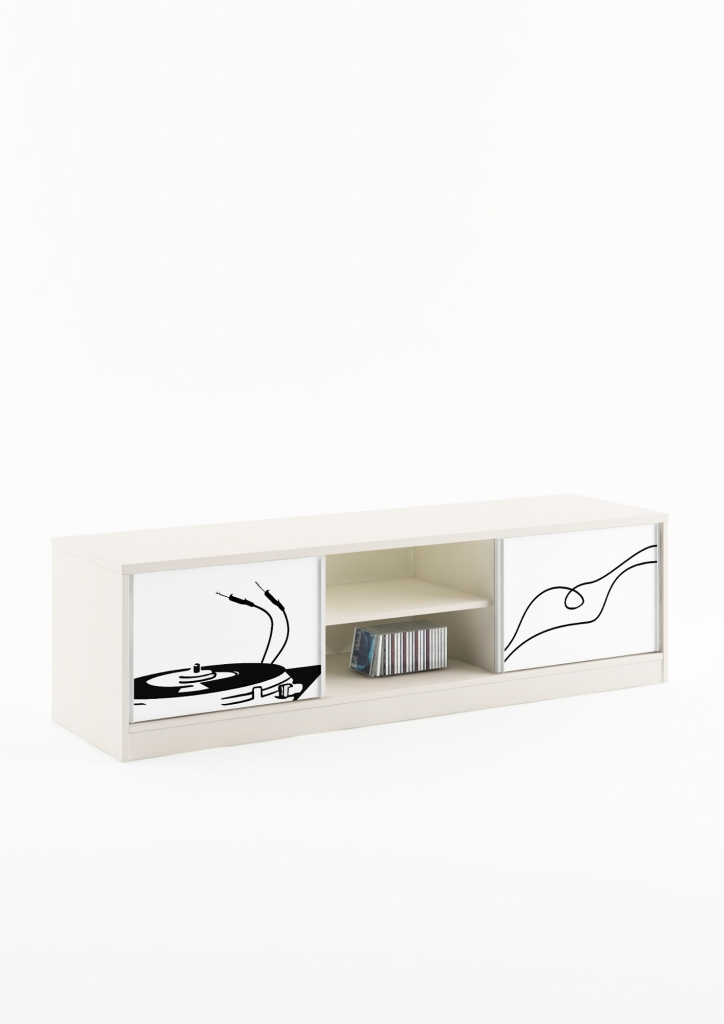 meuble tv (L175 cm P50 cm H50 cm)