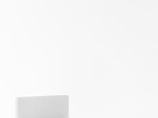 Lit 90/200 tête en PU blanc (212cm x 101 cm x H86 cm)